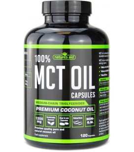 MCT Oil 120 kapsúl, 1200mg/cps