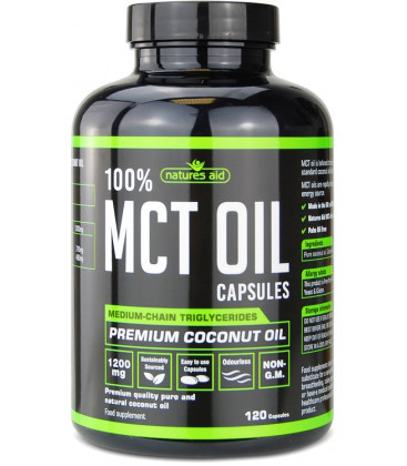 MCT Oil 120 kapsúl, 1200mg/cps