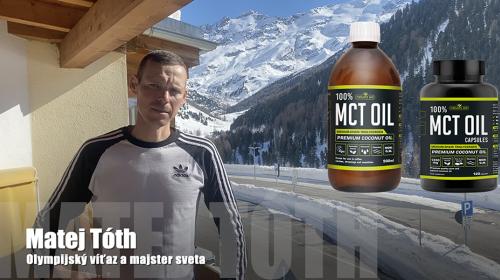 Prísun kvalitnej energie pomocou MCT oleja je pre mňa dôležitý.