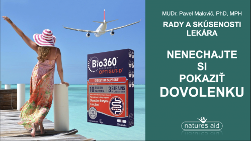 Nepokazte si dovolenku: radí MUDr. Pavel Malovič PhD, MPH