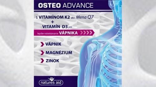 Vitamín K2 a D3 je zárukou, že telo vápnik efektívne zúžitkuje