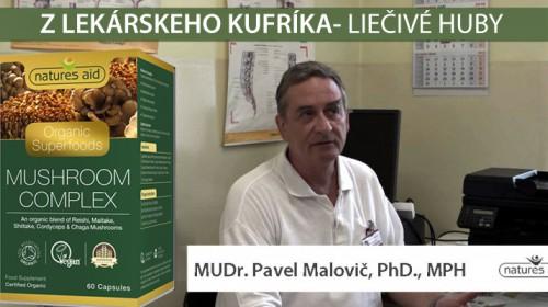 Liečivé huby pre zlepšenie fyzickej aj psychicej výkonnosti - MUDr. Pavel Malovič