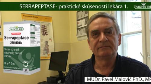 Chladovej /pseudoalergii  pomohla Serrapeptase 250.000iu- skúsenosti lekára- MUDr. Pavel Malovič PhD., MPH
