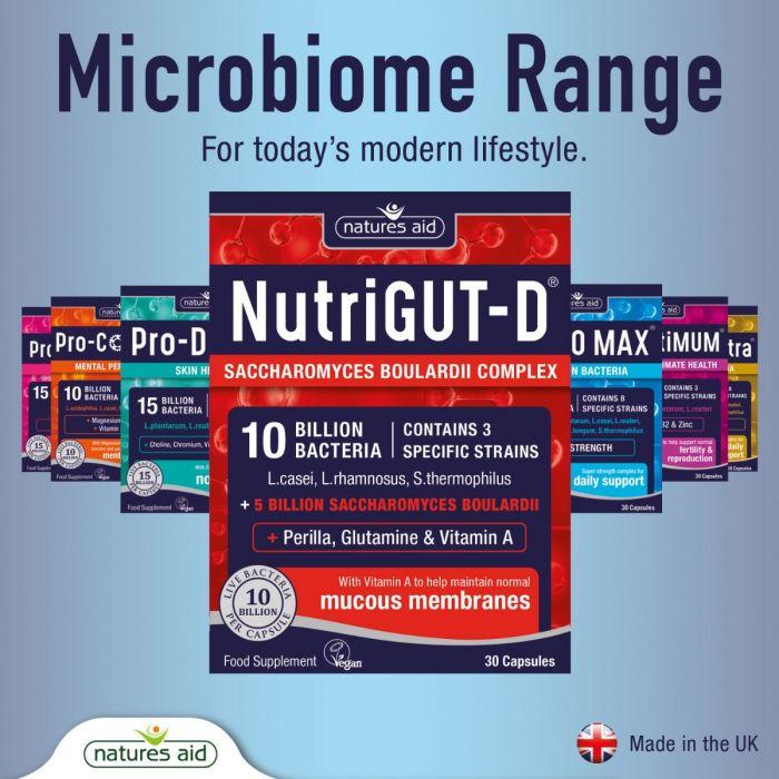 Probiotiká pri silných hnačkách a syndróme dráždivého čreva IBS od Natures Aid