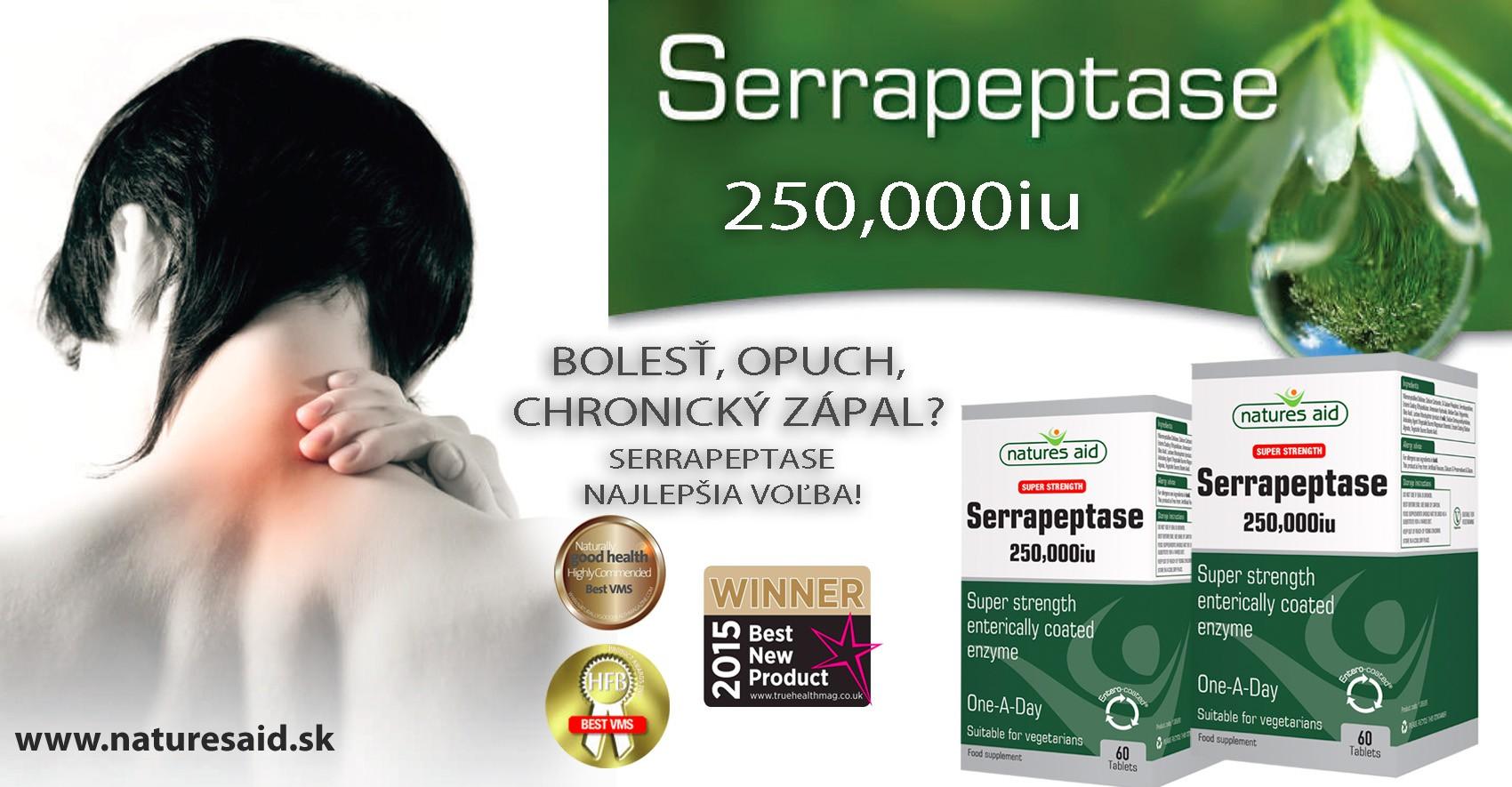 Serrapeptase enzým
